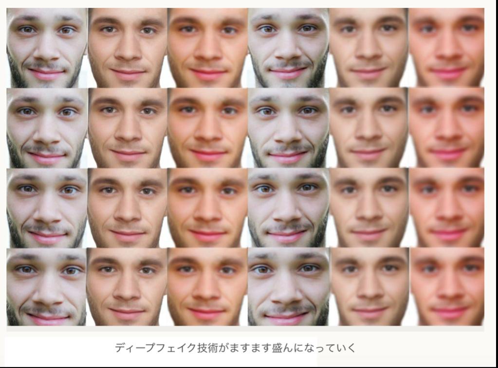 ディープフェークは銀行の顔認証技術の脅威のひとつ