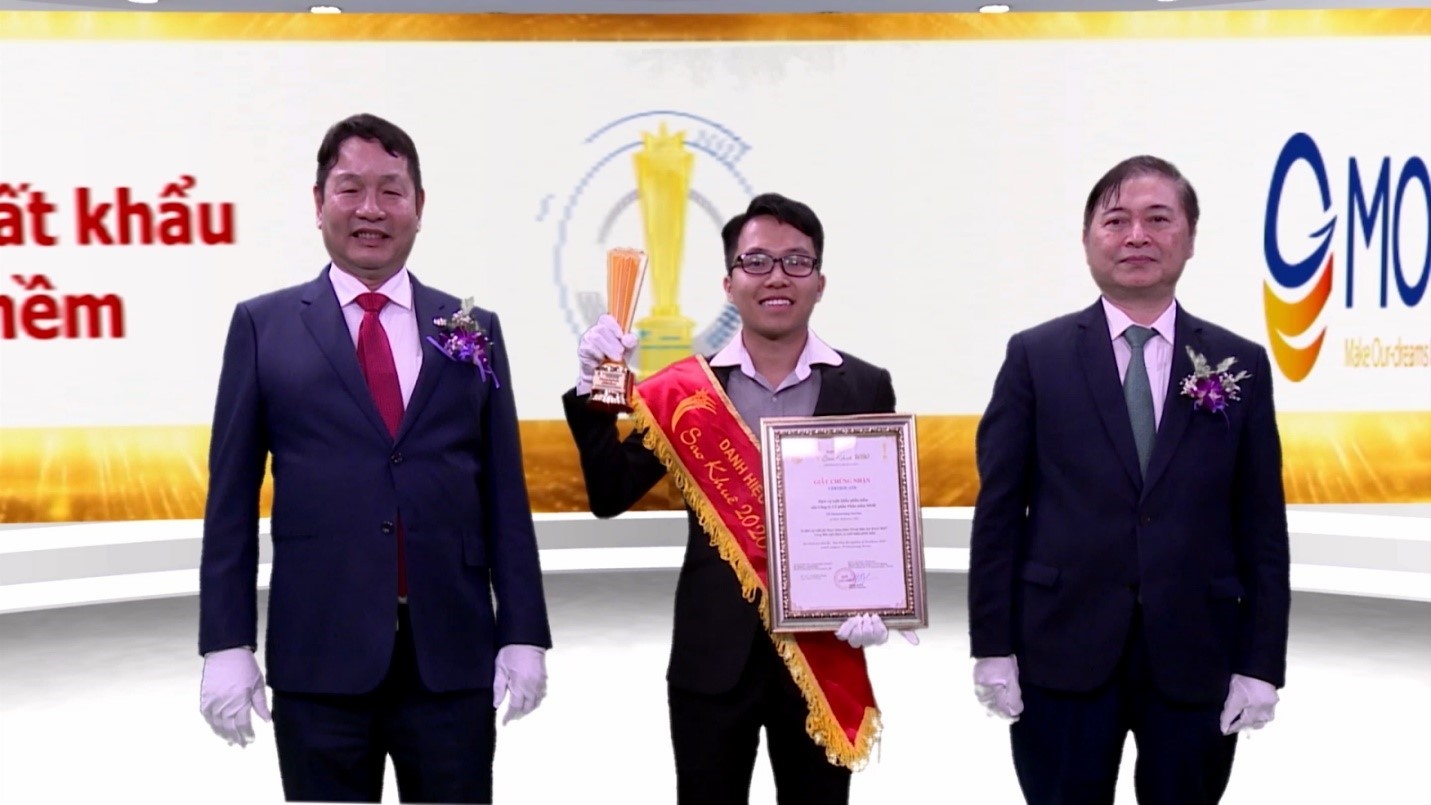 MOR Software JSC was honoured with the 2020 Sao Khue Award